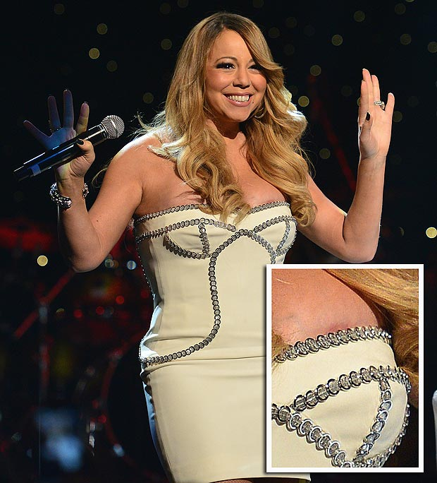 Mariah Carey's Nip Slip — So So Tiny (Pic, Video)