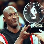 michael jordan (mvp trophy)
