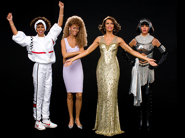 whitney-houston-wax figures