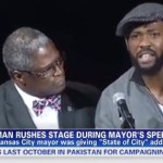 kansas city mayor & irate man