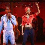 Michelle Williams and Adesola Osakalumi star in Fela! national tour 2013
