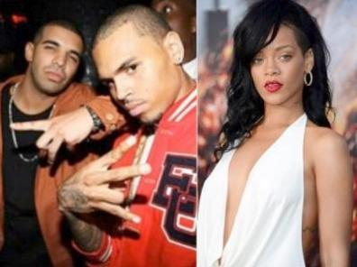 drake chris brown rihanna