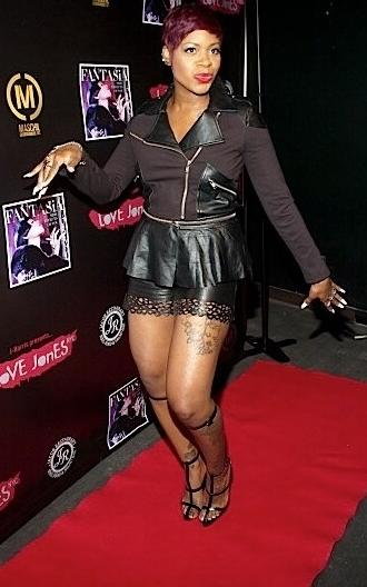 fantasia (on red carpet)