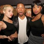 miley cyrus pharrell jennifer hudson