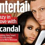 olivia pope &amp; her man (cover ew)1
