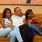 president obama and daughters