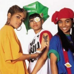 The real T-Boz, Left Eye and Chilli from TLC (1992)