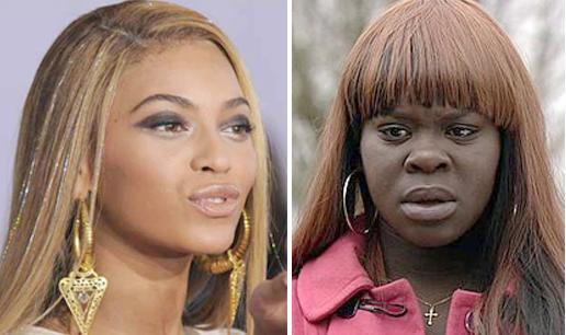 beyonce & dark skinned woman1
