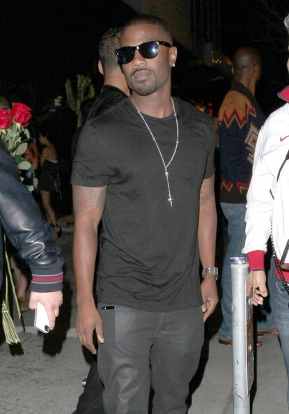 Ray J leaving Bootsy Bellows in West Hollywood, California on June 14, 2014