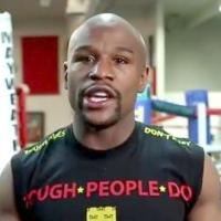 Watch Floyd Mayweather Almost Flawlessly Read a Promo for His Fight (Video)