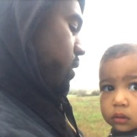 North West Got Rid of Daddy Kanye's Phone; Flushes it Down the Toilet