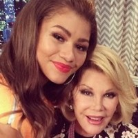 Zendaya and Joan Rivers #TBT Pic Shared by Melissa Rivers