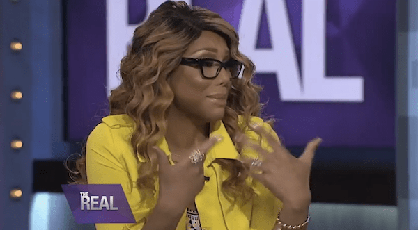 tamar braxton cries on the real