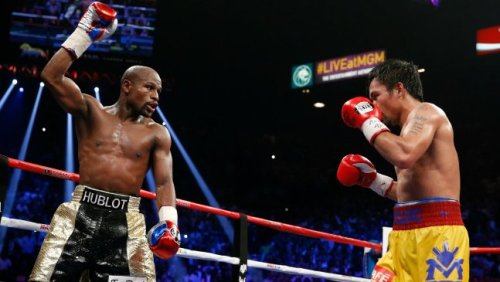 "*Floyd Mayweather Jr. walked away with another belt in the so-called Fight of the Century against Manny Pacquiao, but HBO and Showtime delivered the knockout punch that fans were pinning for.   With 4.4 million PPV buys (nearly double the old 2.48 million record) and over $410 million in domestic PPV revenue, the May 2 fight has dropped all competitors to become the most watched and highest grossing pay-per-view event in history.   The revenue result comes in just over what ringside commentators estimated on the night of the fight – and that's despite streaming of the battle showing up on Twitter's Periscope app and other similar tech plus cable outages.   The long-awaited May 2 showdown between Floyd Mayweather Jr. and Manny Pacquiao, dubbed ""The Fight of the Century,"" earned more than $400 million in TV buys alone – clobbering the previous $150 million record set in 2013 by the Mayweather-Canelo fight.  Views for the event, a rare revenue share for HBO and Showtime, essentially cost $100 a pop, with cable and satellite providers charging $89.95 and an almost obligatory extra $10 for high definition. Showtime and HBO estimate that the audience for the fight topped 4.4 million buys, nearly double the old 2.48 million record.  All told, the event is going to earn more than $500 million in revenue. With additional dough from the live gate at Las Vegas' MGM Grand pulling more than $71 million. (The previous record being $20 million.) International television distribution, sponsorships, closed circuit and merchandise sales, which will further drive the total, have not yet tallied."