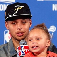 Steph Curry's Daughter Sings Big Sean/Drake During Press Conf (Watch)