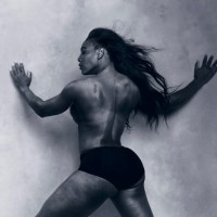 Serena Williams is Half-Naked in 2016 Pirelli Calendar (Pics)