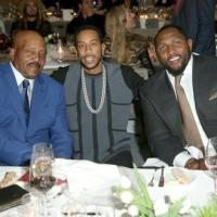 NFL Great Jim Brown Celebrates 80th Birthday with Celebs and Family