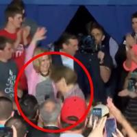 Carly Fiorina Falls Off Stage & Ted Cruz Ignores Her (WATCH)