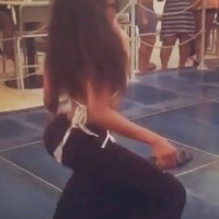 R. Kelly's Ex-Wife Drea Takes Twerking to a New Level...And In a Floor Length Skirt (Watch)