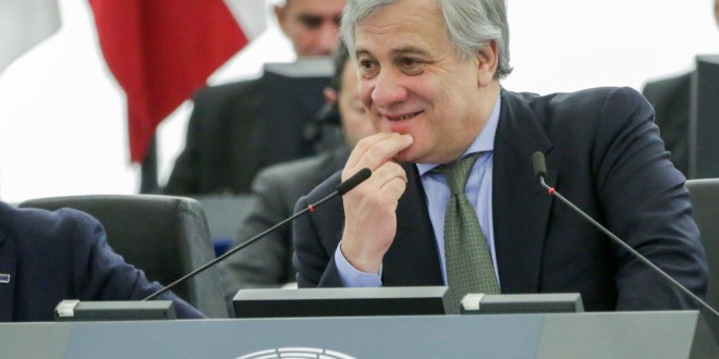 Antonio TAJANI - EP President presides over the plenary session - Week 50 2017 in Strasbourg - Key debate Council and Commission statements - Preparation of the European Council meeting of 14 and 15 December