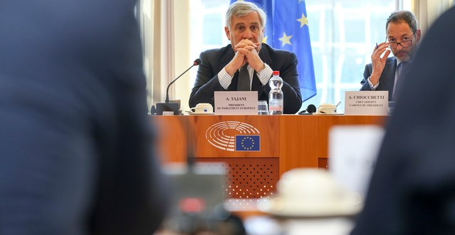 Antonio TAJANI - Next meeting of the Contact Group on Multiannual Financial Framework post-2020 and Own Resources