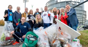MEPs Strasbourg Cleanup action