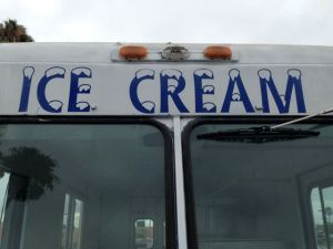 HB ice cream truck