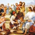 Comentario al evangelio según San Juan 6, 1-15. La multiplicación no basta cree. Audio mp3