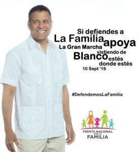 Una marcha que obliga para defensa de la familia.