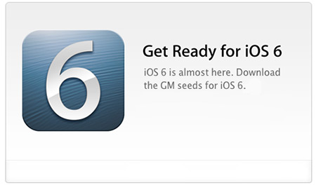 iOS 6 GM (Gold Master) Released and Jailbreak GM iPhone, iPad Reference