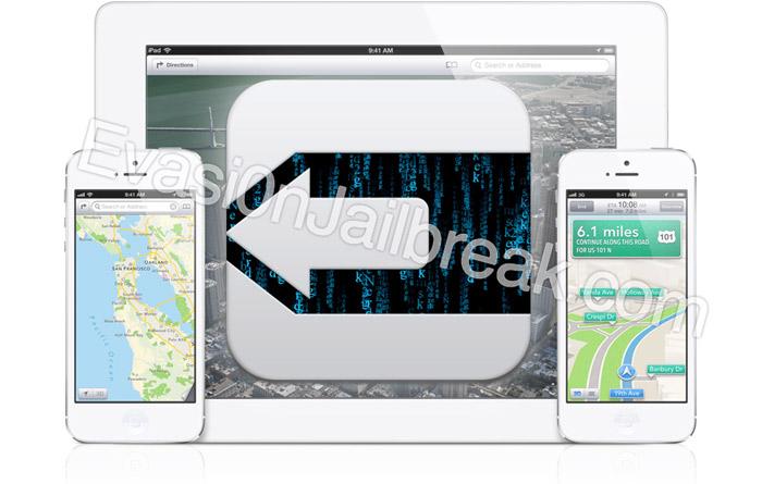 Evasi0n Jailbreak iOS 6.1 UnTethered