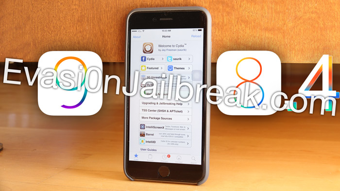 Jailbreak iOS 8.4 and iOS 9