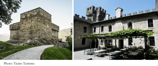 location per matrimonio in ticino - Castello Sasso Corbaro