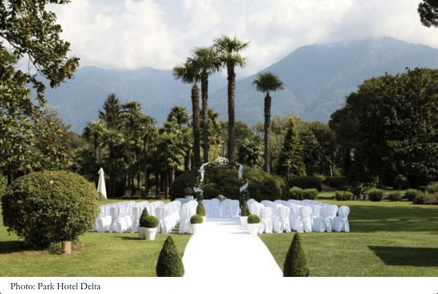 location per matrimonio in ticino - Hotel Delta Ascona