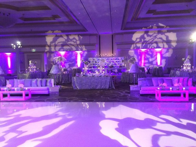 Wedding Reception- Color is Everything
