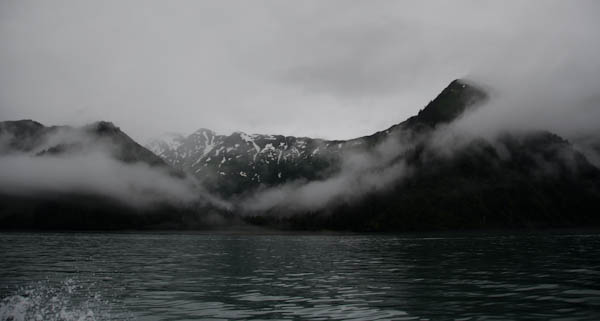 Clouds On Resurrection Bay, Alaska