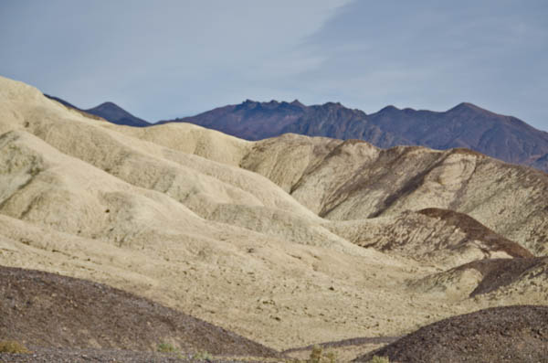 Death Valley National Park shapes and colors