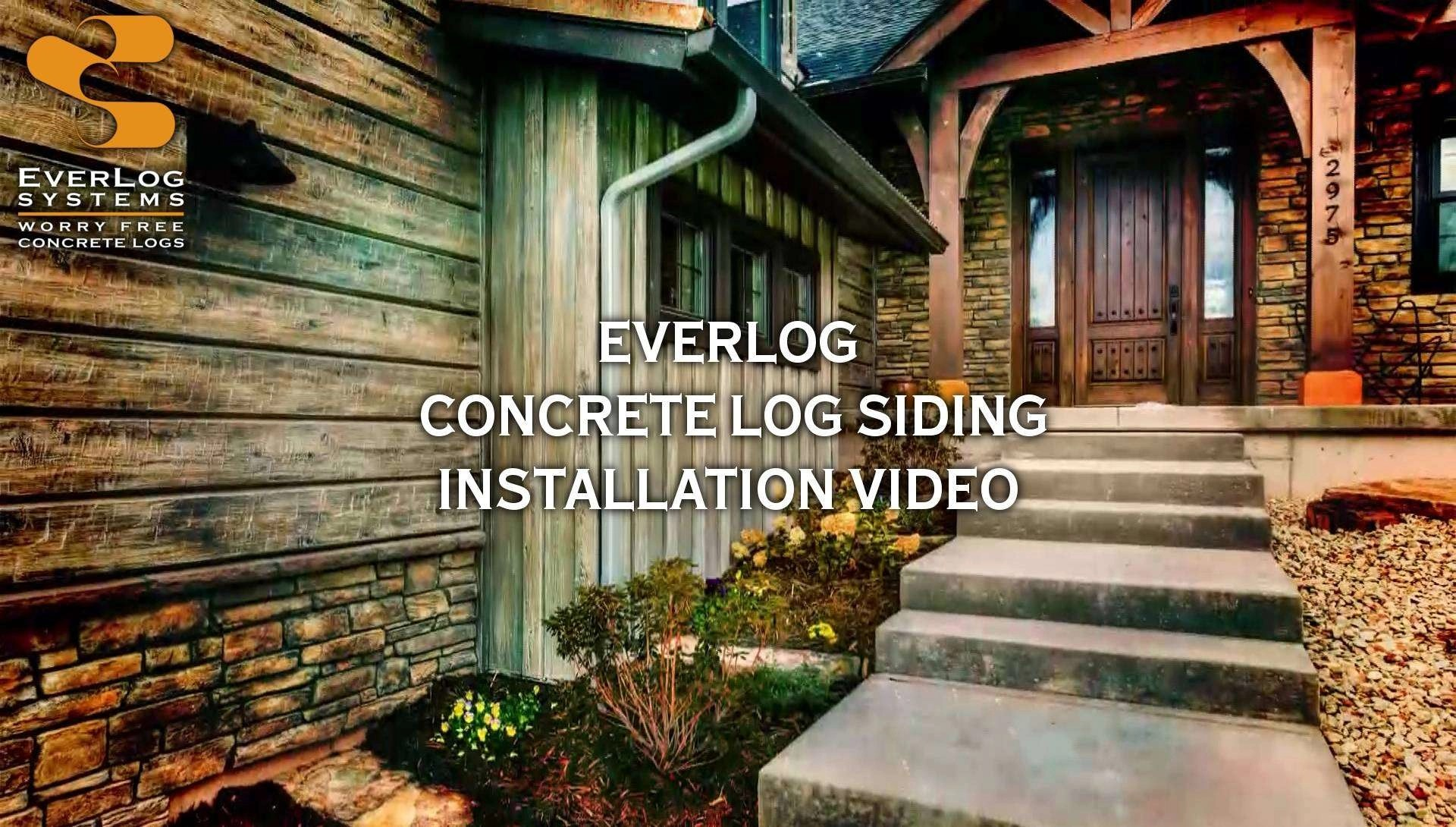Soulful Everlog Siding Installation Video Everlog Concrete Log Siding By Everlog Systems Vinyl Log Siding Manufacturers Vinyl Log Siding Ebay houzz-02 Vinyl Log Siding