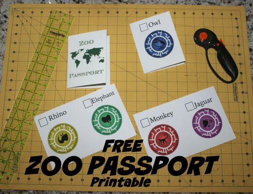 Free Zoo Printable