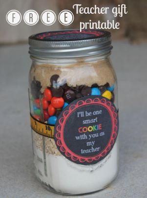 Smart Cookie Free Teacher Gift printable