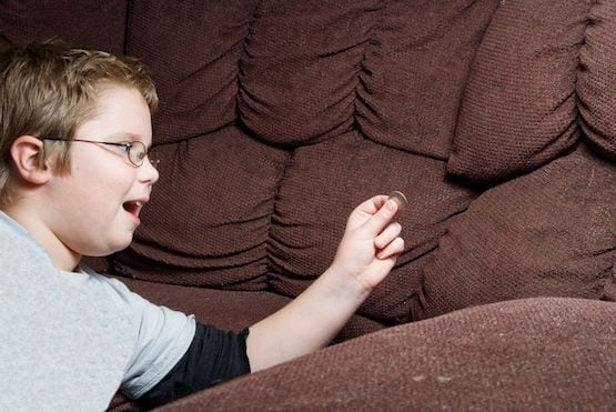 finding money in couch
