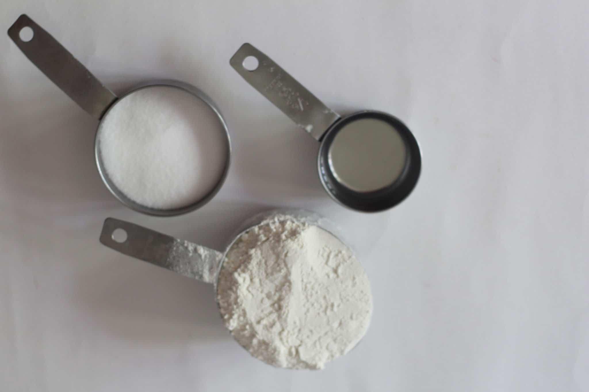 DIY flour dough fish handprint