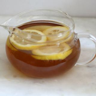 detox lemon ginger green tea