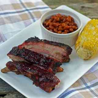 blueberry chipotle ribs