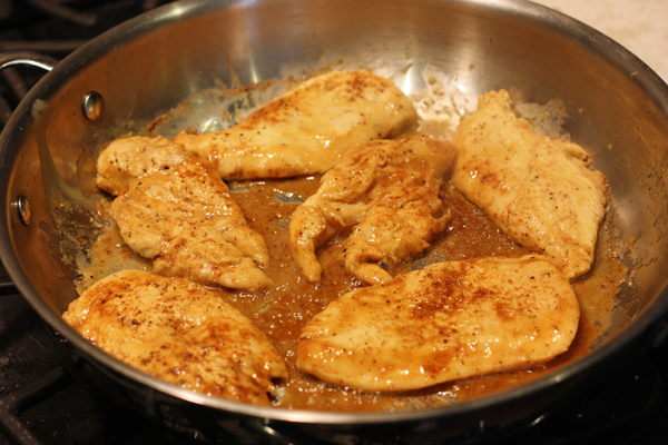 Cooking Chicken