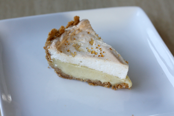 Vanilla Bean Custard Pie