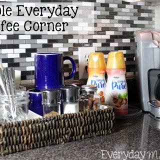 Simple Everyday Coffee Bar