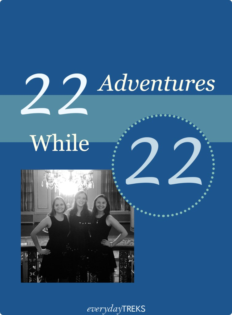22 Adventures While 22