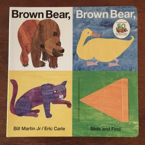 5 Board Books to get for Baby, Brown Bear, Brown Bear, What Do You See?