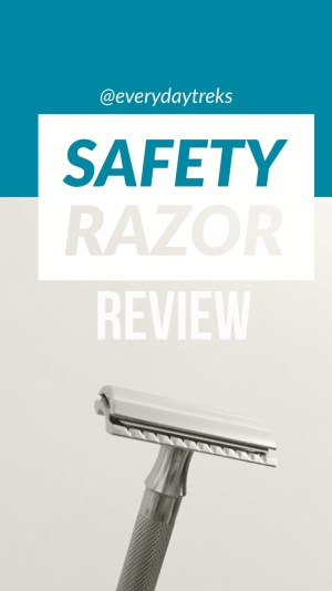Safety Razor Review - This has been the easiest zero waste switch for me! I love using a safety razor to shave my legs, I feel so much more gentlemanly!